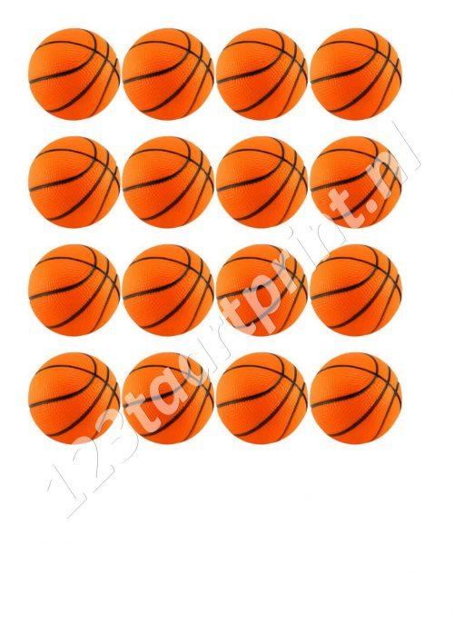 Basketbal cupcakes