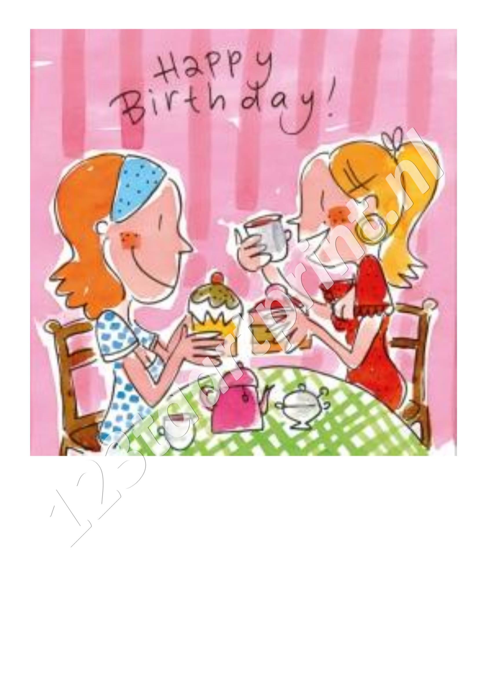 Blond Happy Birthday 1