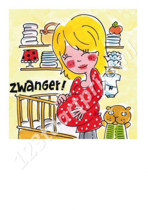 Blond Zwanger