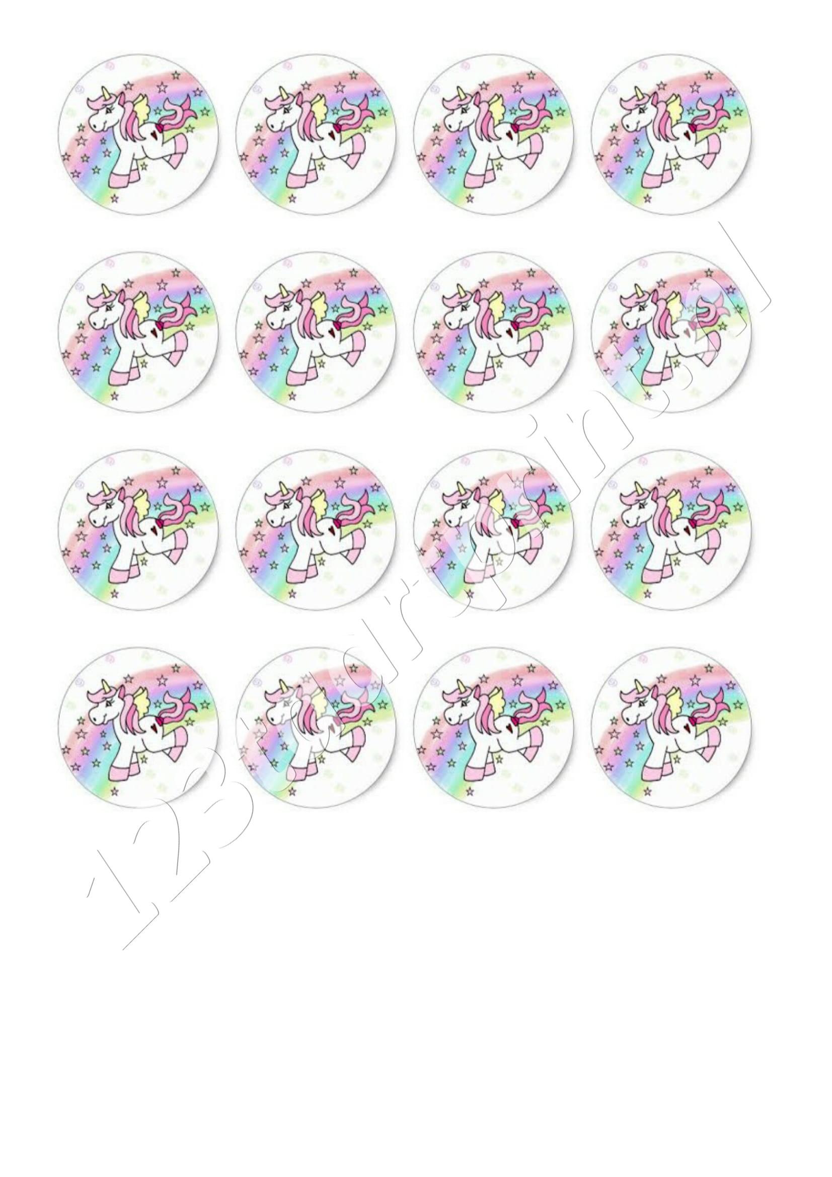 Eenhoorn / Unicorn cupcakes 1
