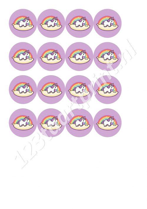 Eenhoorn / Unicorn cupcakes 2