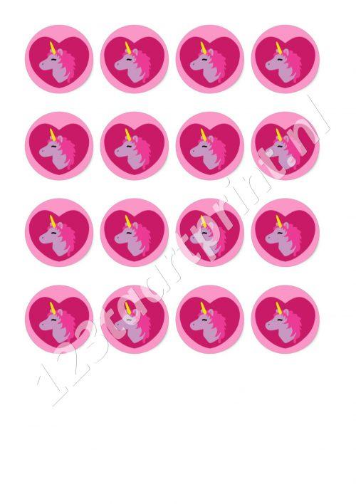 Eenhoorn / Unicorn cupcakes 3