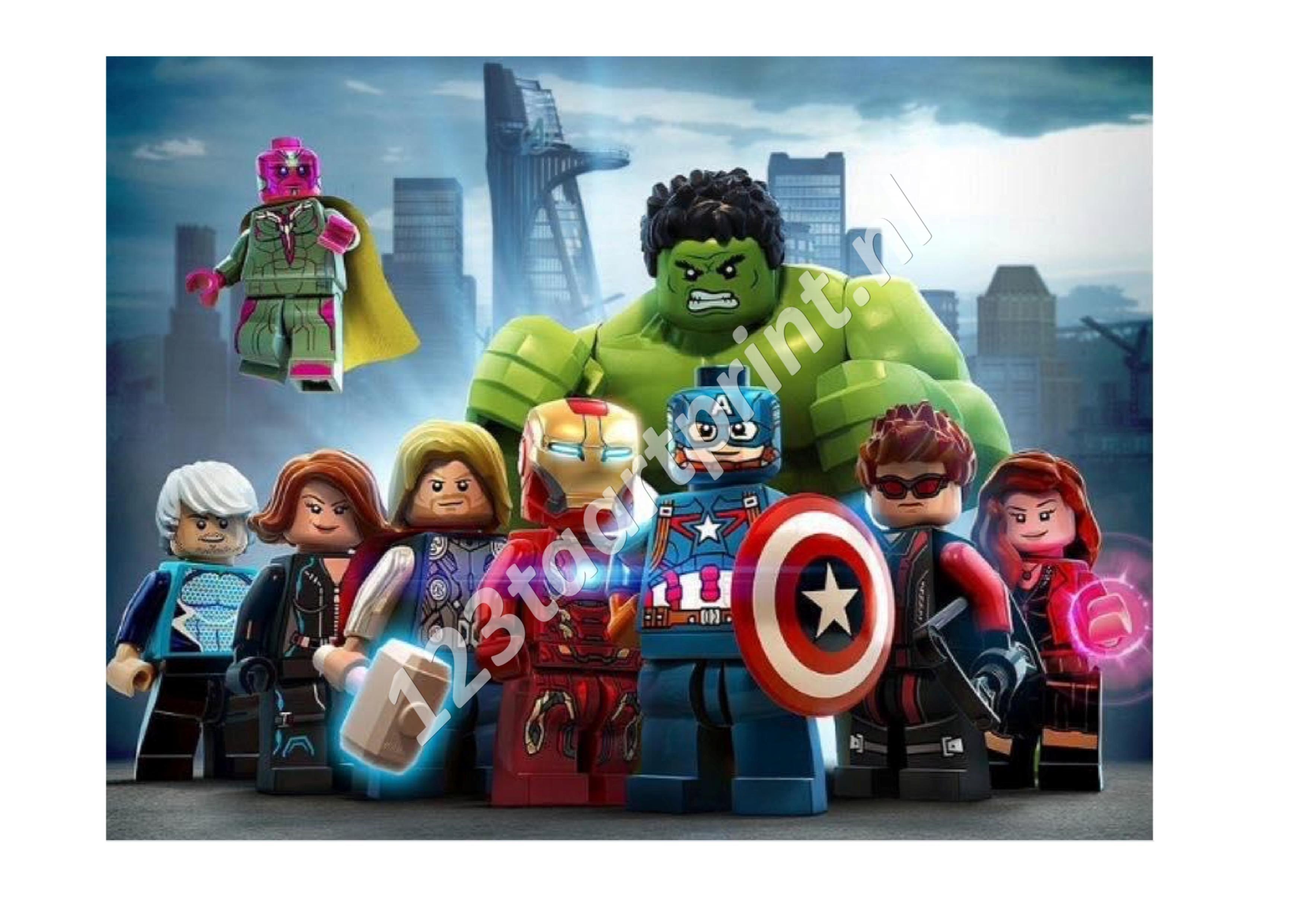 Lego Superhelden