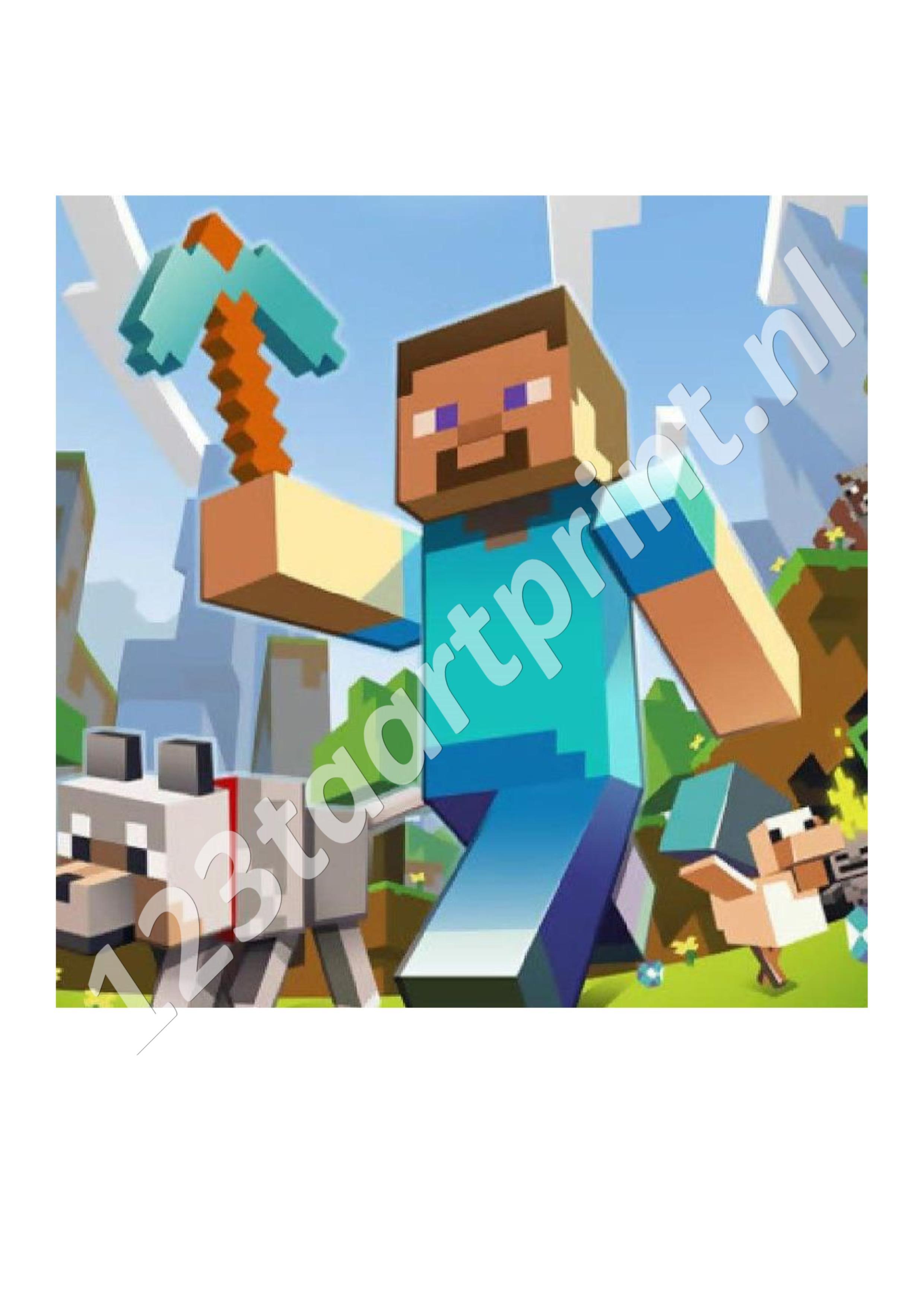 Minecraft vierkant