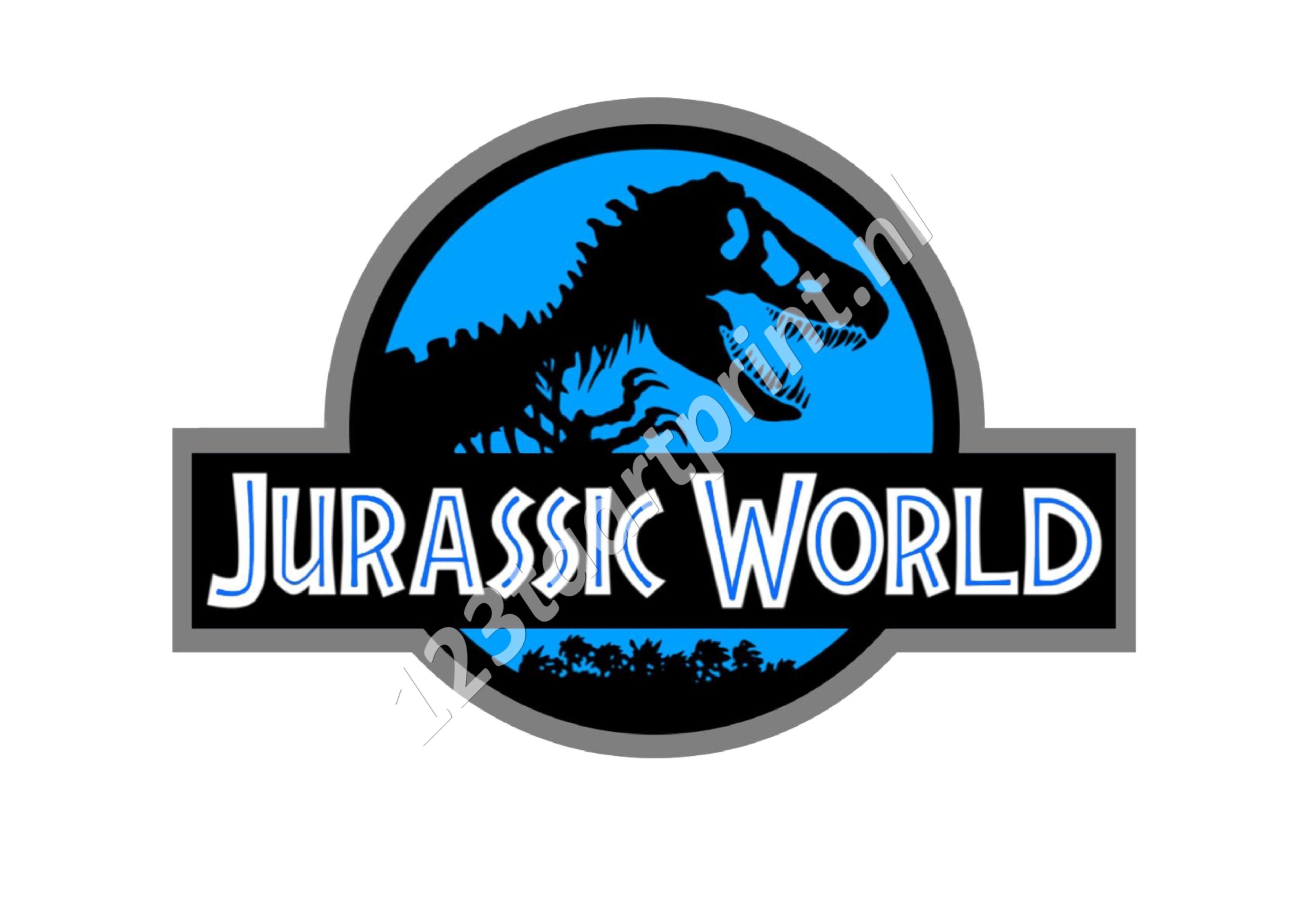 Jurassic World logo groot