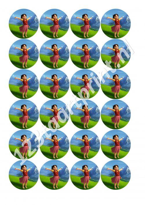 Heidi Rond 2 cupcakes