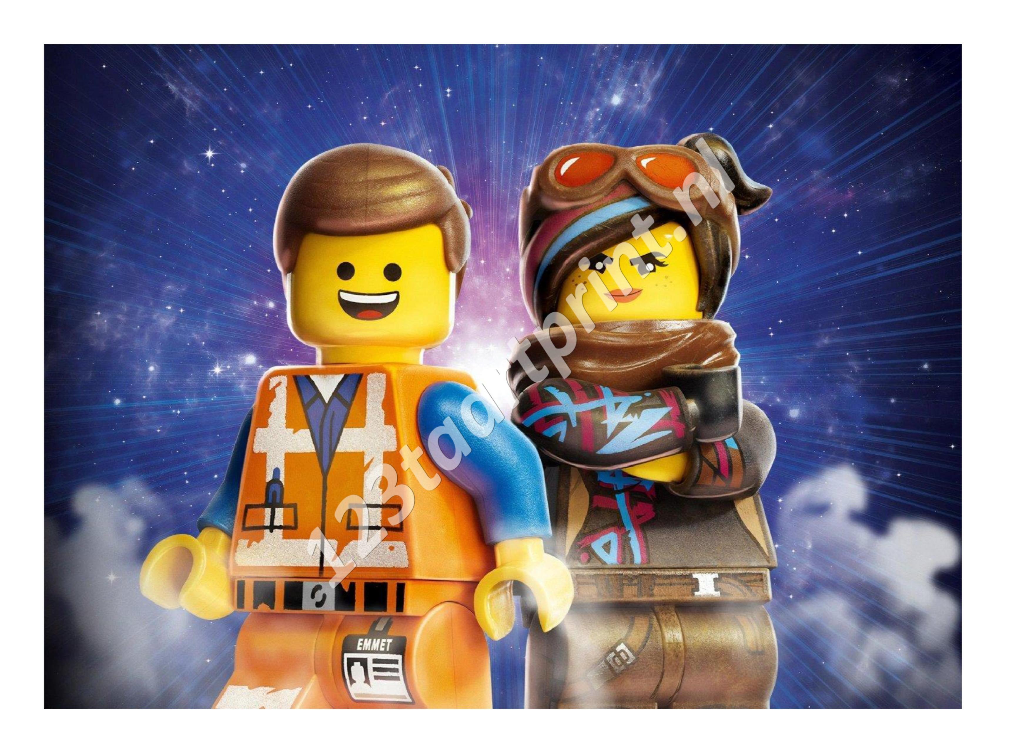 Lego Emmet en Lucy