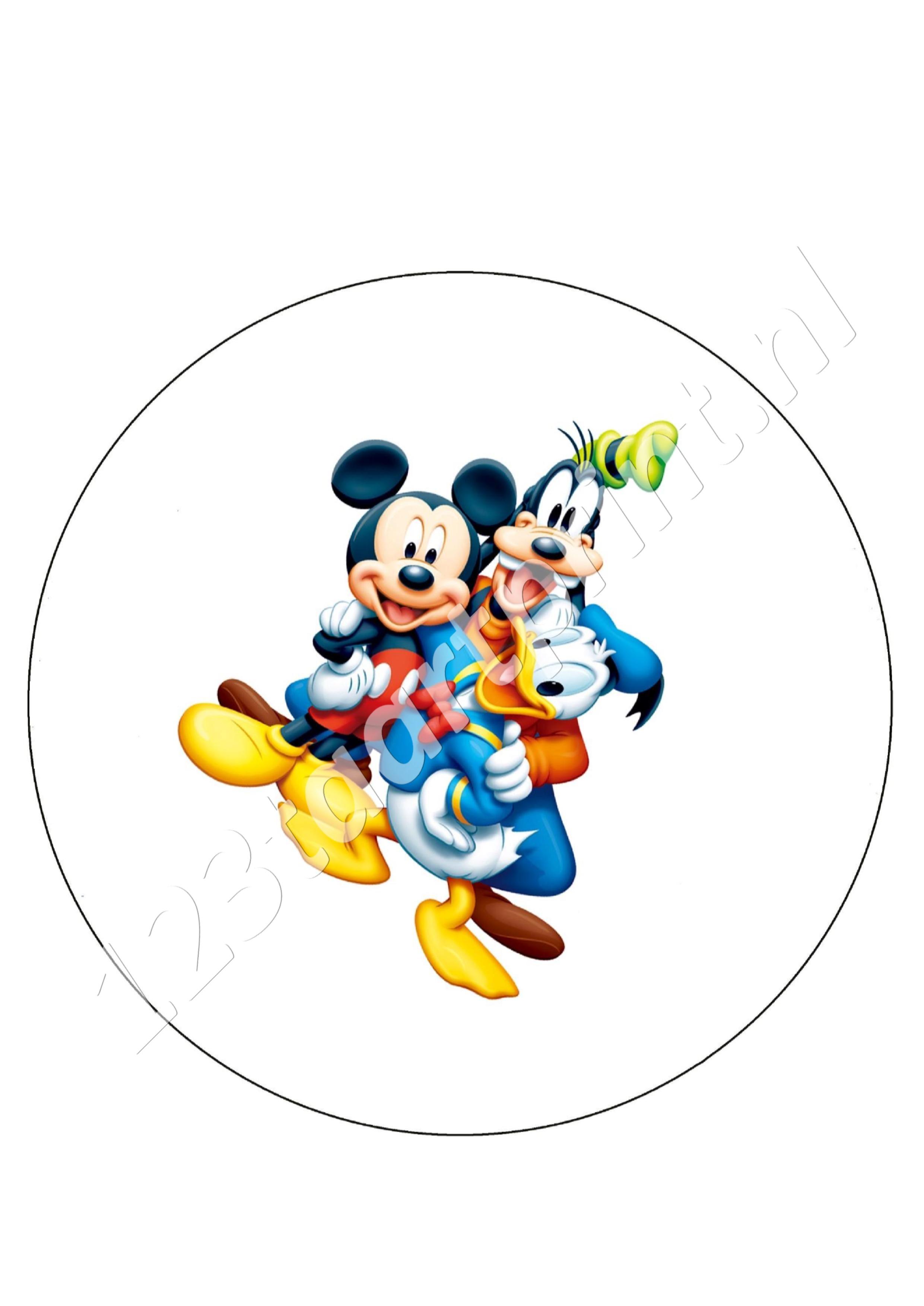 Mickey, Donald en Goofy