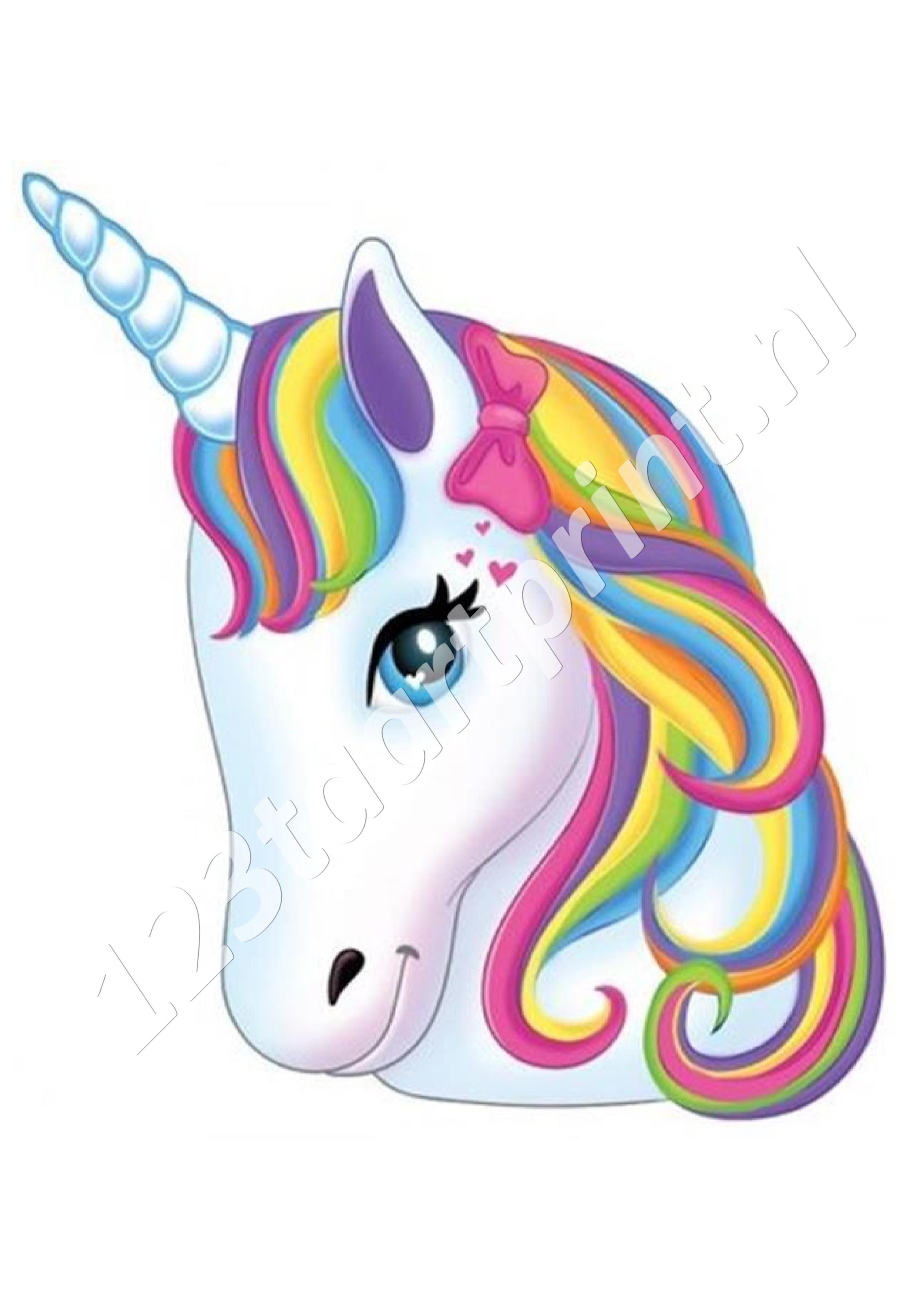 Unicorn hoofd