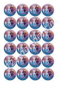 Frozen II -rond 1 cupcakes