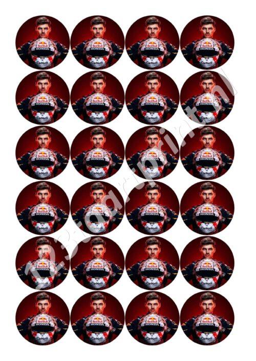 Max Verstappen Cupcakes 3