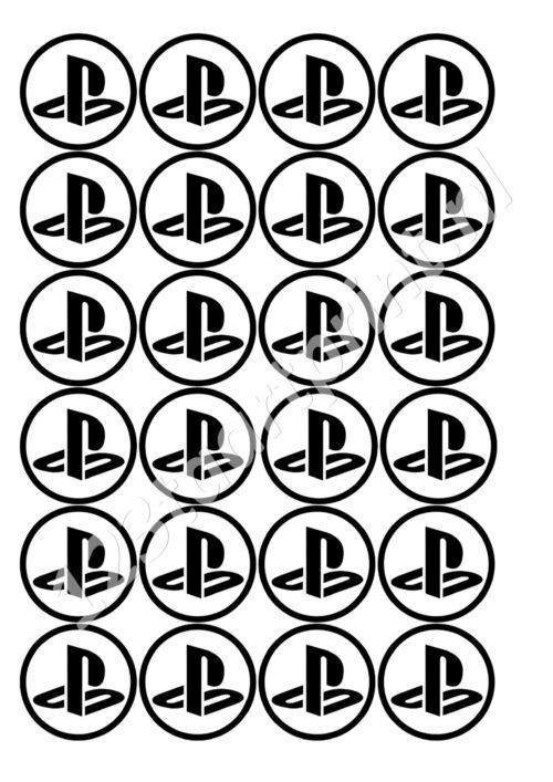 PS logo cupcakes