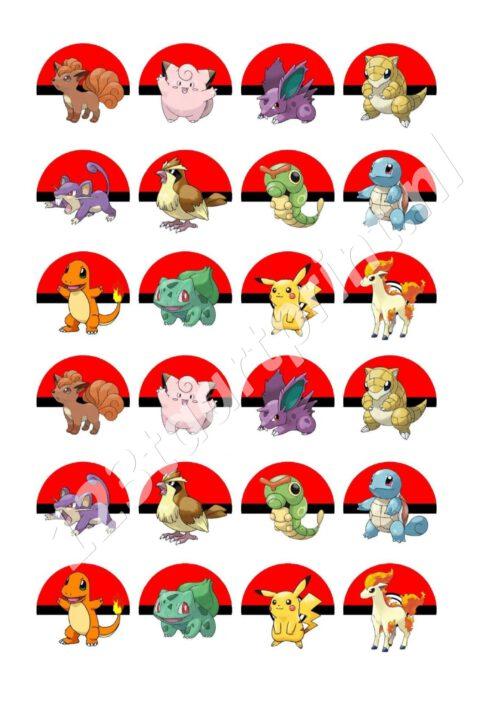 Pokemon Go cupcakes