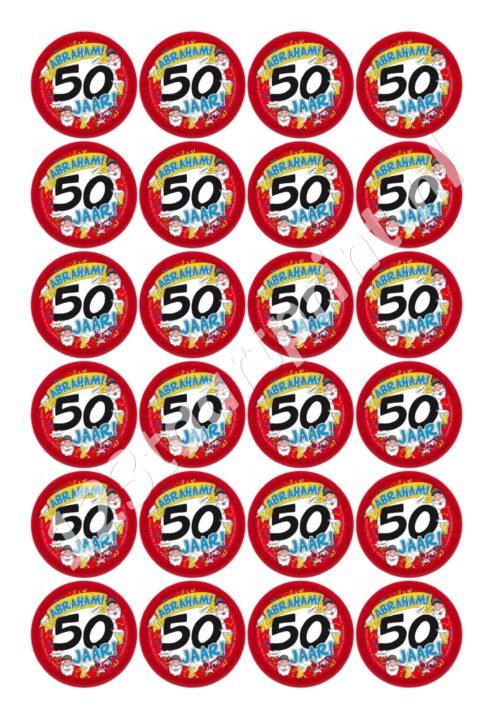 abraham 50 jaar cupcakes (2)